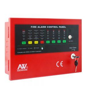 Fire Alarm panel 4 zone asenware