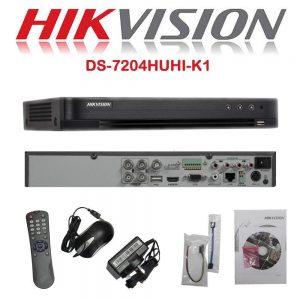 Hikvision 4 channel DVR 1080p