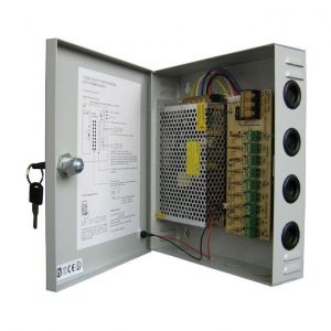 CCTV power supply box 10amps
